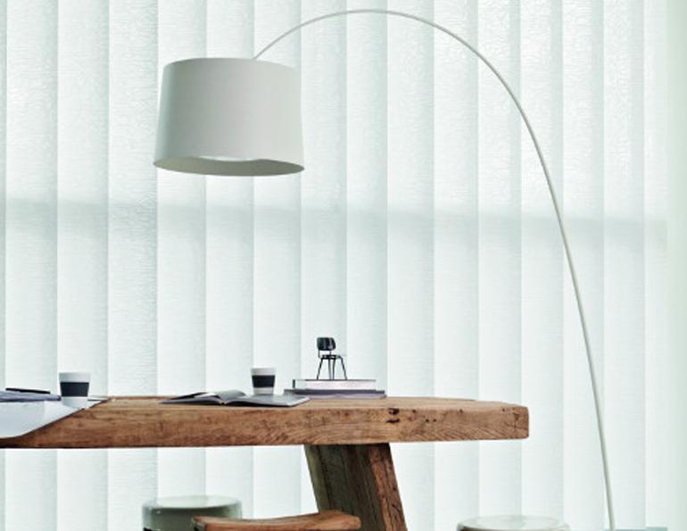rail store californien lamelles verticales perfor blanc. Black Bedroom Furniture Sets. Home Design Ideas